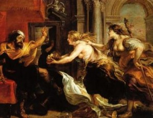"A Rubens painting of a scene from ""Titus Andronicus."" Did Shakespeare write the play to head off the competition?"
